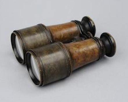 Stanley's binoculars