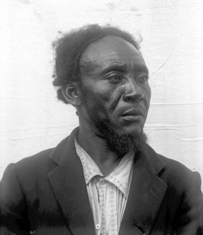 The chief Tungura Tubali (Uele-Sili) (1912)