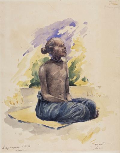 The chief Kazembé N'Tenda