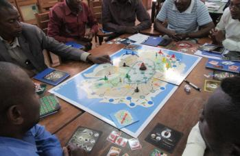 Board game teaches Goma residents about geological hazards